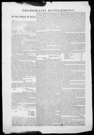 Primary view of object titled 'Houston Telegraph (Houston, Tex.), Ed. 1 Tuesday, June 23, 1863'.