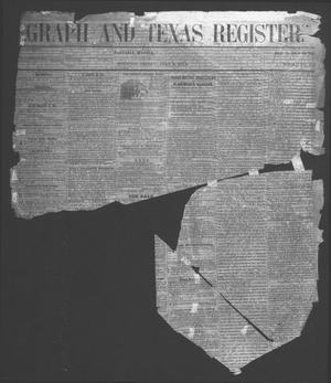 Primary view of object titled 'Telegraph And Texas Register (Houston, Tex.), Vol. 18, No. 26, Ed. 1 Friday, July 8, 1853'.