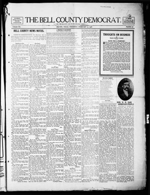 Primary view of object titled 'The Bell County Democrat (Belton, Tex.), Vol. 12, No. 30, Ed. 1 Thursday, February 13, 1908'.