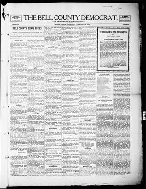 Primary view of object titled 'The Bell County Democrat (Belton, Tex.), Vol. 12, No. 31, Ed. 1 Thursday, February 20, 1908'.