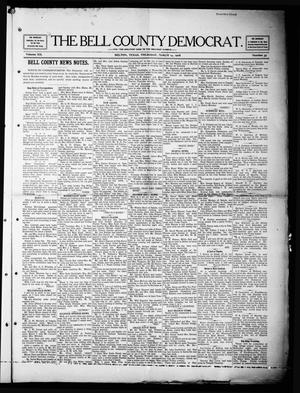 Primary view of object titled 'The Bell County Democrat (Belton, Tex.), Vol. 12, No. 35, Ed. 1 Thursday, March 19, 1908'.