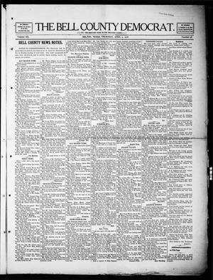 Primary view of object titled 'The Bell County Democrat (Belton, Tex.), Vol. 12, No. 38, Ed. 1 Thursday, April 9, 1908'.