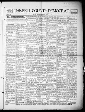 Primary view of object titled 'The Bell County Democrat (Belton, Tex.), Vol. 12, No. 39, Ed. 1 Thursday, April 16, 1908'.