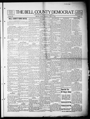 Primary view of object titled 'The Bell County Democrat (Belton, Tex.), Vol. 12, No. 40, Ed. 1 Thursday, April 23, 1908'.