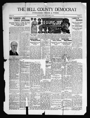 Primary view of object titled 'The Bell County Democrat (Belton, Tex.), Vol. 14, No. 72, Ed. 1 Friday, April 8, 1910'.