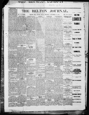 The Belton Journal (Belton, Tex.), Vol. 14, No. 39, Ed. 1 Thursday, September 23, 1880