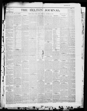 Primary view of object titled 'The Belton Journal (Belton, Tex.), Vol. 14, No. 51, Ed. 1 Thursday, December 16, 1880'.