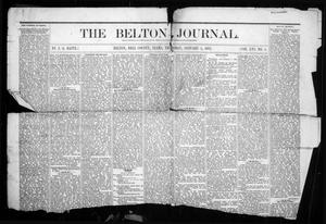 Primary view of object titled 'The Belton Journal (Belton, Tex.), Vol. 16, No. 1, Ed. 1 Thursday, January 5, 1882'.