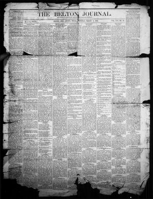 Primary view of object titled 'The Belton Journal (Belton, Tex.), Vol. 16, No. 10, Ed. 1 Thursday, March 9, 1882'.