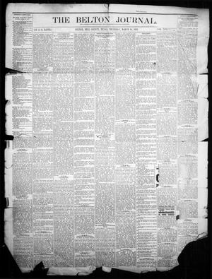 Primary view of object titled 'The Belton Journal (Belton, Tex.), Vol. 16, No. 11, Ed. 1 Thursday, March 16, 1882'.