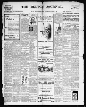 The Belton Journal (Belton, Tex.), Vol. 31, No. 39, Ed. 1 Saturday, October 2, 1897