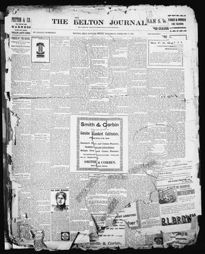 Primary view of object titled 'The Belton Journal (Belton, Tex.), Ed. 1 Saturday, February 26, 1898'.