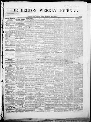 The Belton Weekly Journal (Belton, Tex.), Vol. 4, No. 21, Ed. 1 Saturday, May 14, 1870