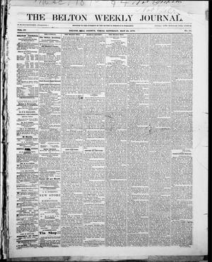 Primary view of object titled 'The Belton Weekly Journal (Belton, Tex.), Vol. 4, No. 23, Ed. 1 Saturday, May 28, 1870'.