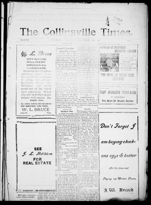 Primary view of object titled 'The Collinsville Times. (Collinsville, Tex.), Vol. 28, No. 20, Ed. 1 Friday, May 9, 1913'.