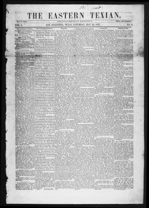 The Eastern Texian (San Augustine, Tex.), Vol. 1, No. 9, Ed. 1 Saturday, May 30, 1857