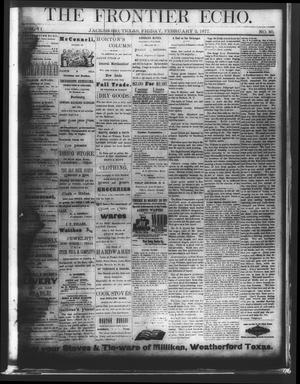 The Frontier Echo (Jacksboro, Tex.), Vol. 2, No. 30, Ed. 1 Friday, February 2, 1877