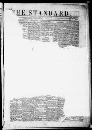 Primary view of object titled 'The Standard. (Clarksville, Tex.), Vol. 10, No. 2, Ed. 1 Saturday, November 13, 1852'.