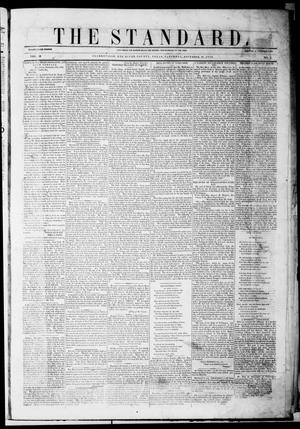 Primary view of object titled 'The Standard. (Clarksville, Tex.), Vol. 10, No. 3, Ed. 1 Saturday, November 20, 1852'.