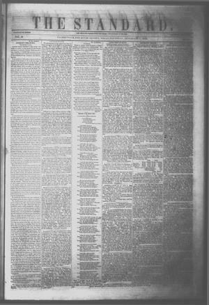 Primary view of object titled 'The Standard. (Clarksville, Tex.), Vol. 10, No. 46, Ed. 1 Saturday, September 17, 1853'.