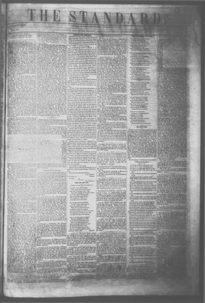 Primary view of object titled 'The Standard. (Clarksville, Tex.), Vol. 10, No. 52, Ed. 1 Saturday, October 29, 1853'.