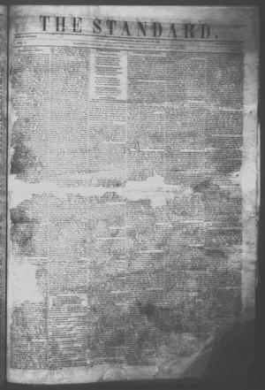Primary view of object titled 'The Standard. (Clarksville, Tex.), Vol. 11, No. 3, Ed. 1 Saturday, November 19, 1853'.