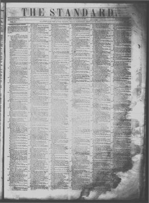 Primary view of The Standard. (Clarksville, Tex.), Vol. 11, No. 16, Ed. 1 Saturday, February 18, 1854