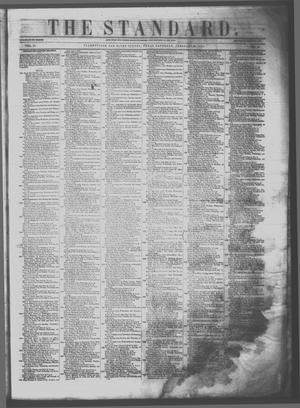 Primary view of object titled 'The Standard. (Clarksville, Tex.), Vol. 11, No. 17, Ed. 1 Saturday, February 25, 1854'.