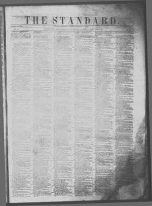 Primary view of object titled 'The Standard. (Clarksville, Tex.), Vol. 11, No. 22, Ed. 1 Saturday, April 1, 1854'.