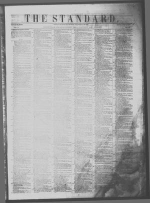 Primary view of object titled 'The Standard. (Clarksville, Tex.), Vol. 11, No. 23, Ed. 1 Saturday, April 8, 1854'.