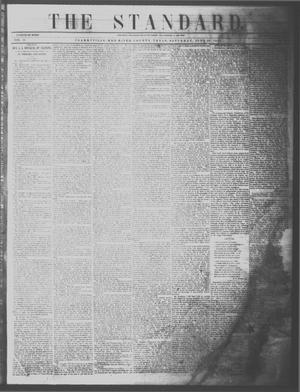 Primary view of The Standard. (Clarksville, Tex.), Vol. 11, No. 32, Ed. 1 Saturday, June 10, 1854