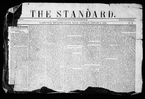 Primary view of object titled 'The Standard. (Clarksville, Tex.), Vol. 12, No. 52, Ed. 1 Saturday, January 5, 1856'.