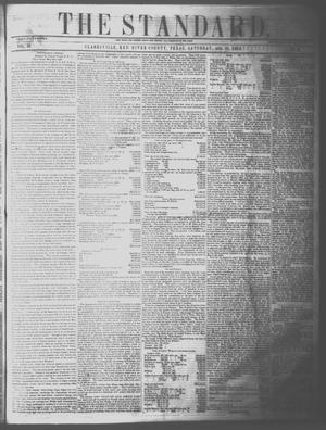 Primary view of The Standard. (Clarksville, Tex.), Vol. 15, No. 32, Ed. 1 Saturday, August 28, 1858