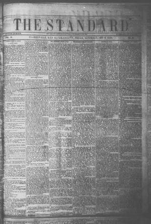 Primary view of object titled 'The Standard. (Clarksville, Tex.), Vol. 15, No. 38, Ed. 1 Saturday, October 9, 1858'.