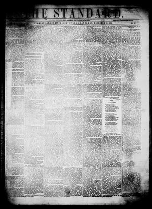 Primary view of The Standard. (Clarksville, Tex.), Vol. 16, No. 47, Ed. 1 Saturday, December 10, 1859