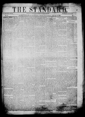 Primary view of object titled 'The Standard. (Clarksville, Tex.), Vol. 17, No. 2, Ed. 1 Saturday, January 28, 1860'.