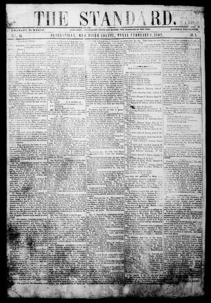 Primary view of object titled 'The Standard. (Clarksville, Tex.), Vol. 19, No. 4, Ed. 1 Saturday, February 8, 1862'.