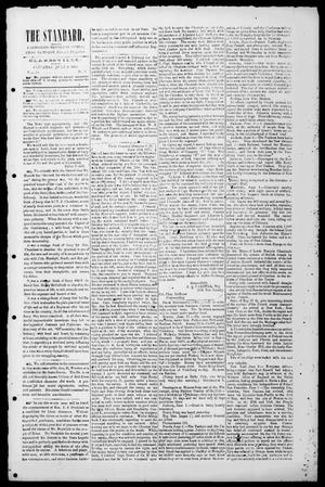 Primary view of The Standard. (Clarksville, Tex.), Vol. 20, No. 9, Ed. 1 Saturday, July 4, 1863