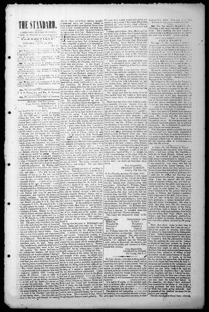 Primary view of object titled 'The Standard. (Clarksville, Tex.), Vol. 20, No. 11, Ed. 1 Saturday, July 18, 1863'.