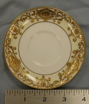 Primary view of object titled '8 small saucers'.