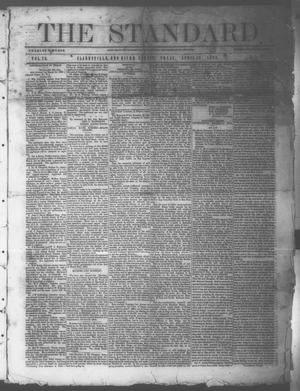 Primary view of object titled 'The Standard. (Clarksville, Tex.), Vol. 26, No. 21, Ed. 1 Saturday, April 18, 1868'.