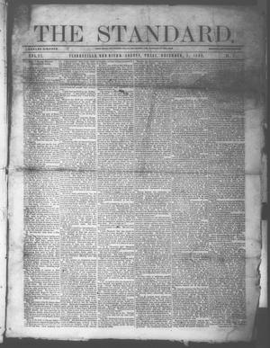 Primary view of object titled 'The Standard. (Clarksville, Tex.), Vol. 27, No. 2, Ed. 1 Saturday, December 5, 1868'.