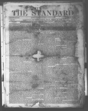 Primary view of object titled 'The Standard. (Clarksville, Tex.), Vol. 27, No. 15, Ed. 1 Saturday, March 13, 1869'.