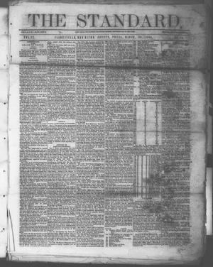 Primary view of object titled 'The Standard. (Clarksville, Tex.), Vol. 27, No. 16, Ed. 1 Saturday, March 20, 1869'.