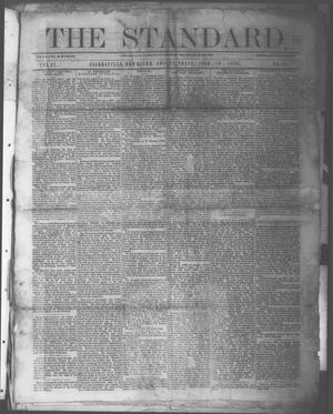 Primary view of object titled 'The Standard. (Clarksville, Tex.), Vol. 27, No. 29, Ed. 1 Saturday, June 19, 1869'.