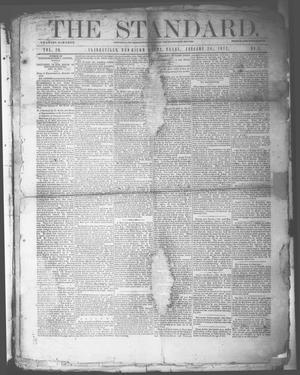 Primary view of object titled 'The Standard. (Clarksville, Tex.), Vol. 29, No. 4, Ed. 1 Saturday, January 28, 1871'.