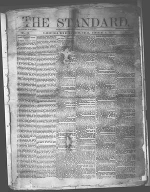 Primary view of object titled 'The Standard. (Clarksville, Tex.), Vol. 29, No. 5, Ed. 1 Saturday, February 4, 1871'.