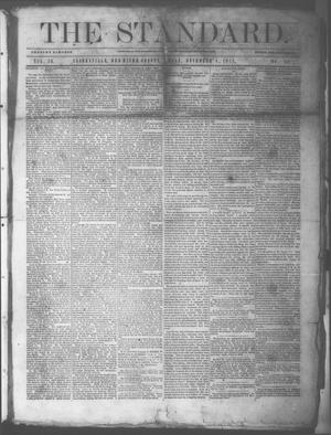 Primary view of object titled 'The Standard. (Clarksville, Tex.), Vol. 29, No. 44, Ed. 1 Saturday, November 4, 1871'.