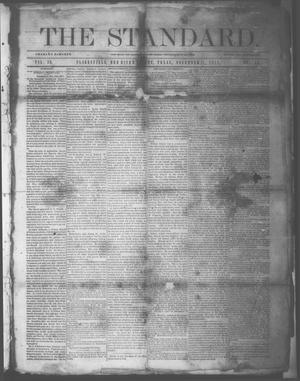 Primary view of object titled 'The Standard. (Clarksville, Tex.), Vol. 29, No. 45, Ed. 1 Saturday, November 11, 1871'.