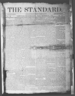 Primary view of object titled 'The Standard. (Clarksville, Tex.), Vol. 29, No. 50, Ed. 1 Saturday, December 23, 1871'.